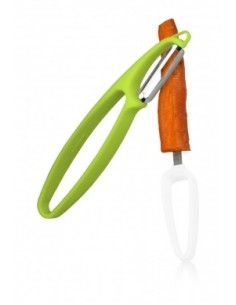 Pela verdure e frutta Fruit & Vegetable Peeler( due in uno ) di Vacuvin