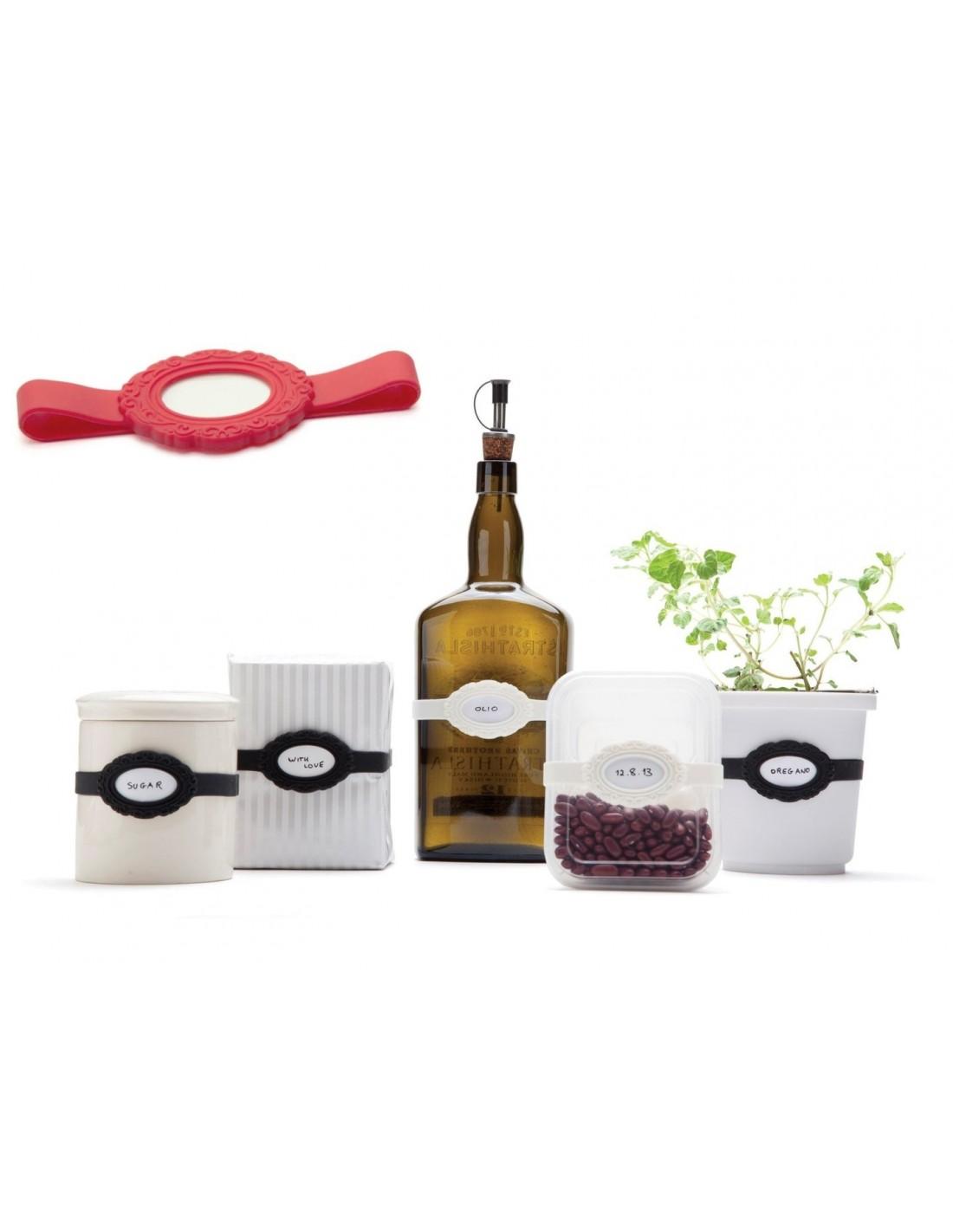 Porta etichette elastico la bella di monkey business for Porta online shop