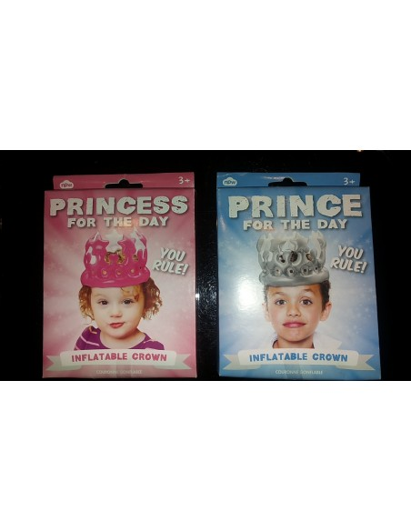 Corona gonfiabile per bambino/a