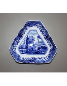 Vassoio triangolare Blu Italian di Spode