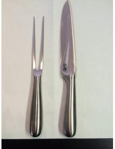 Set Mami coltello e forchetta carni di Alessi