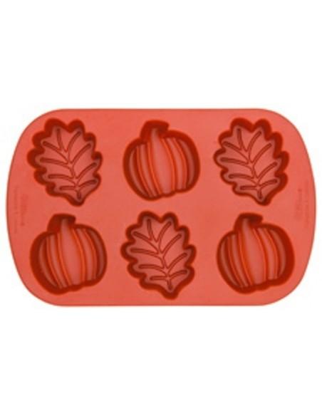 Stampo foglie e zucche Halloween di Wilton