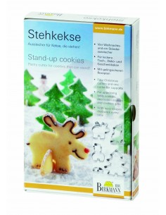 Stampo per biscotti Stand Up di Birkemann