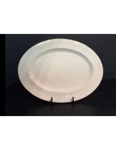 Piatto ovale/vassoio bianco Lago di Richard Ginori