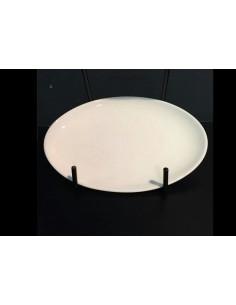 Piatto ovale/raviere bianco Lago di Richard Ginori