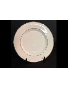 Piatto piano bianco Antinea di Richard Ginori