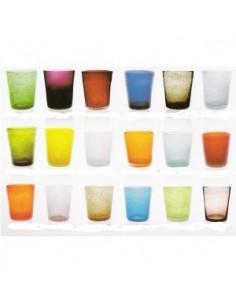 Bicchiere Memento in vetro soffiato