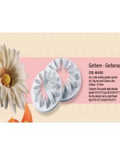Kit 2 pz stampi Gerbera di Martellato Italian Cake Art