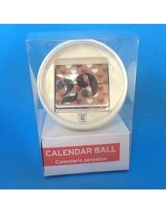 Calendario da scrivania Calendar Ball di Pusher