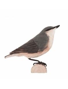 Uccello decorato Nuthatch/Picchio di Wildlife Garden