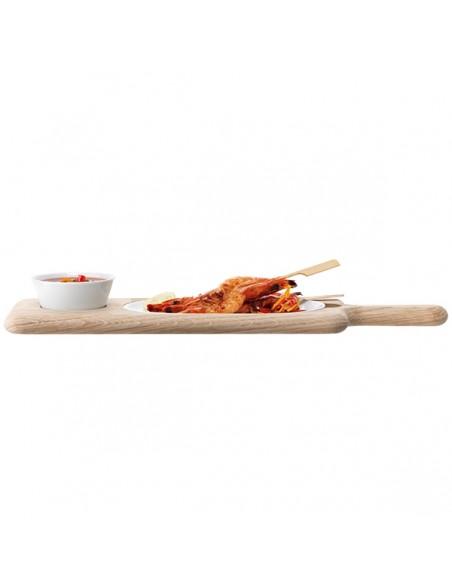 Set Pinziomonio/Dessert Paddle Serving di LSA International