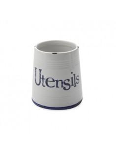 Contenitore per Utensili in ceramica con coperchio di Casa Rustica Domani