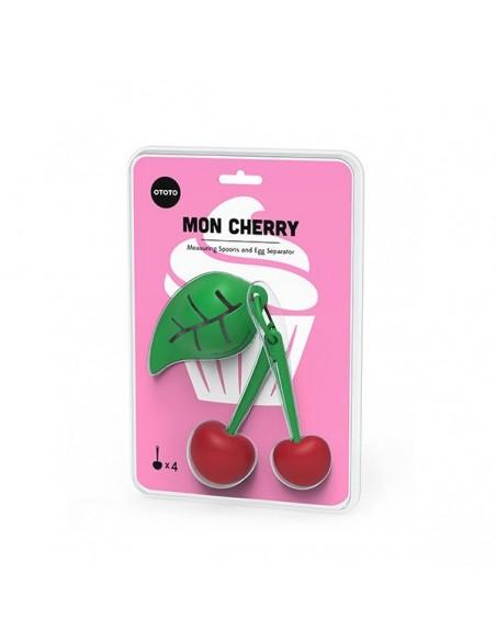 Cucchiaini dosatori e separa tuorlo Mon Cherry di Ototo